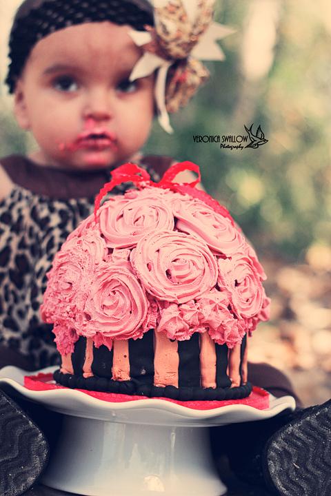 Alannah's Cake Smash